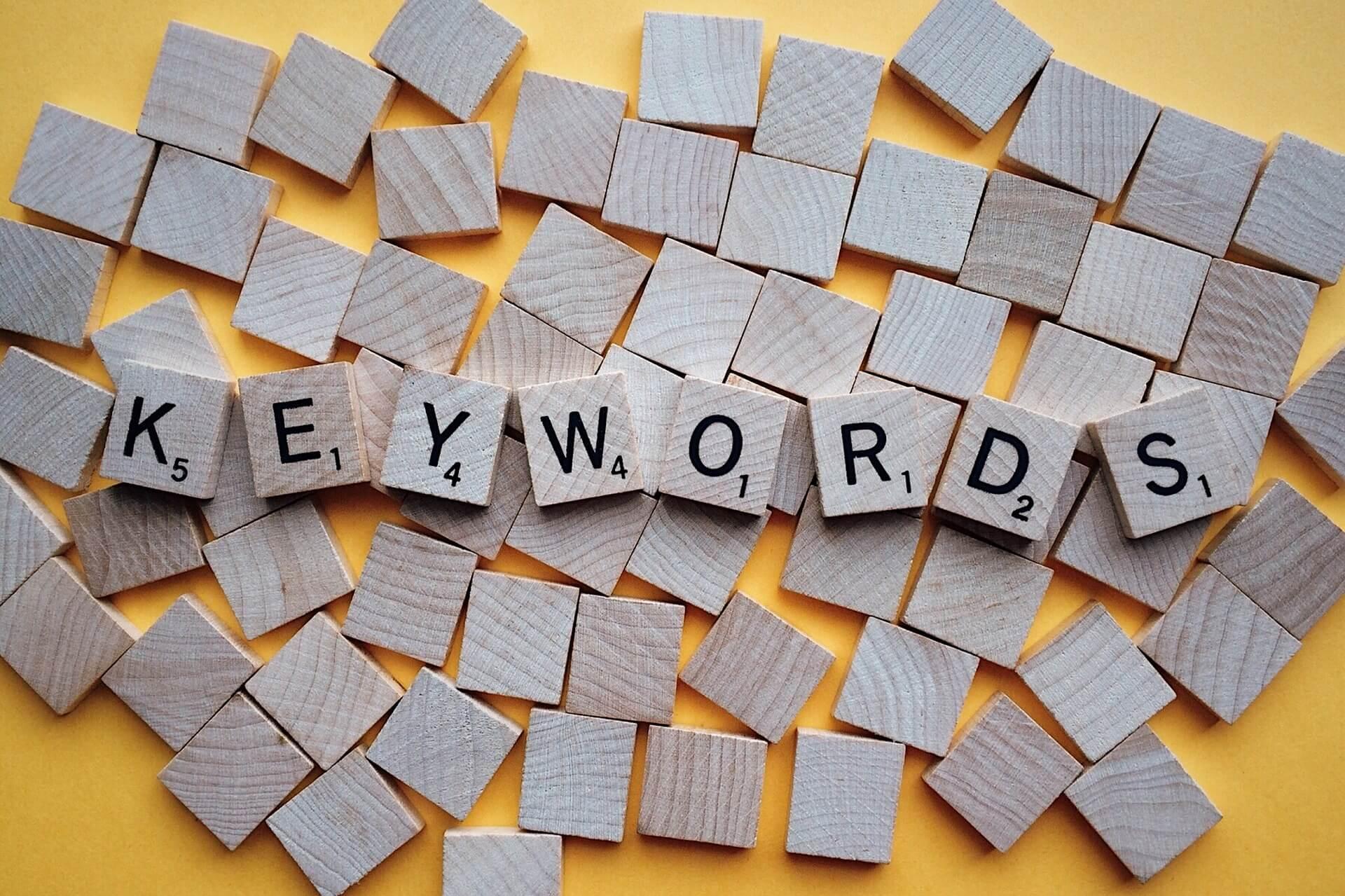 Keywords richtig auswählen