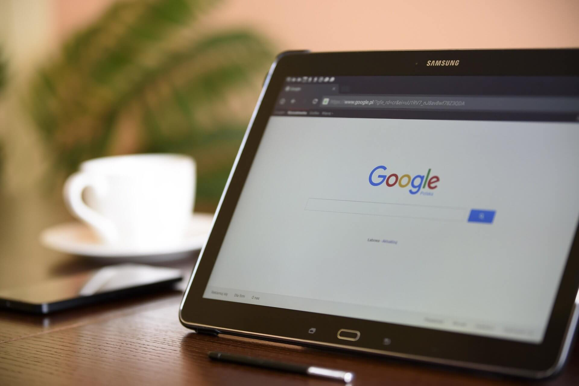 Tablet Google Search