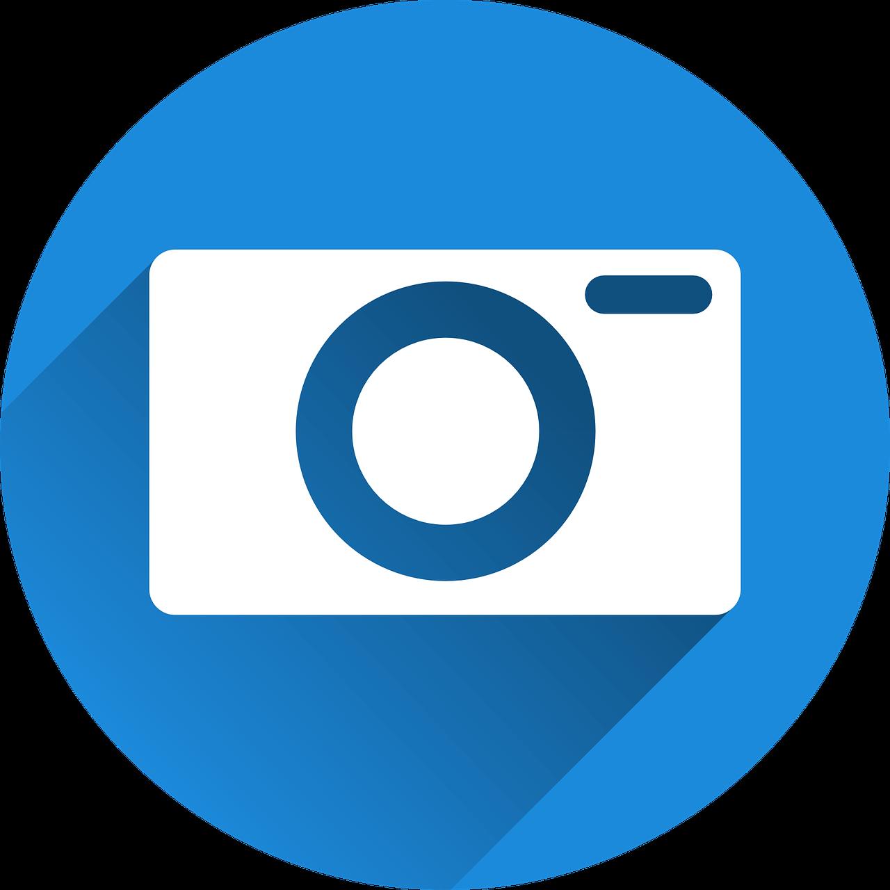 Kamera Icon - Bilder Optimierung