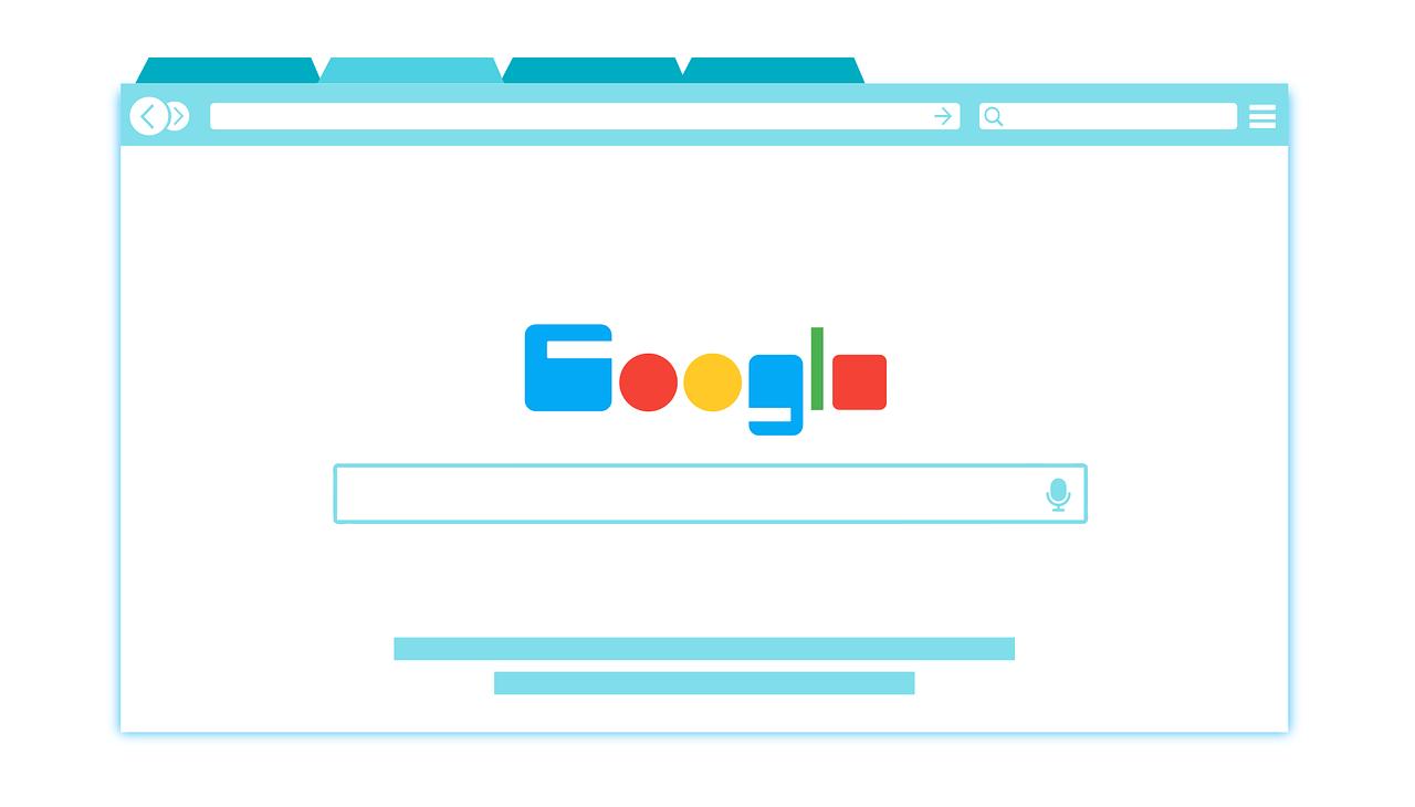 Illustration Googlesuche
