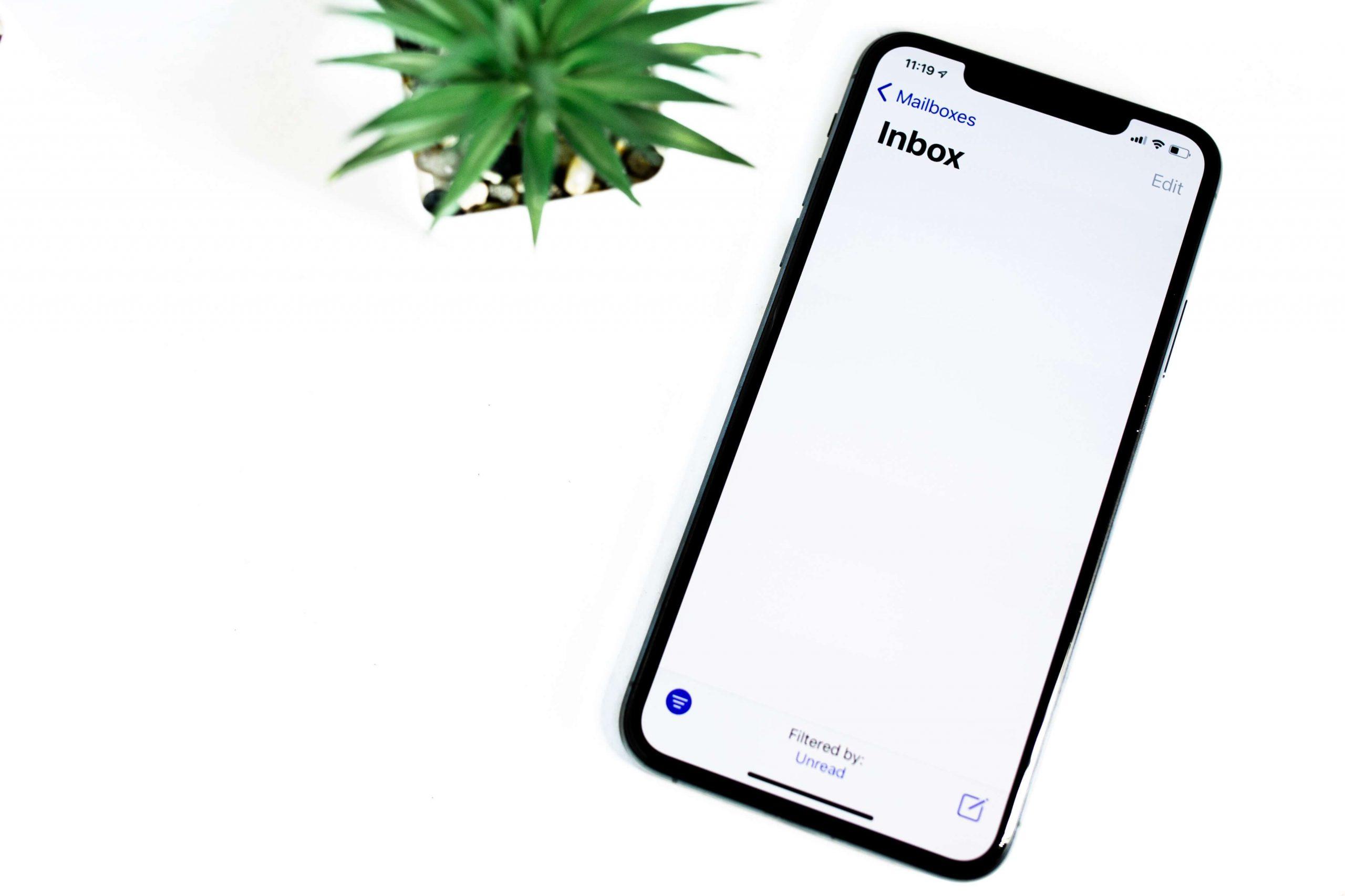 Inbox auf Handy