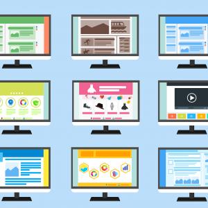 Aufbau verschiedener Websites