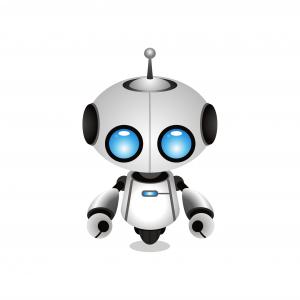 Cartoon Roboter - Robots.txt