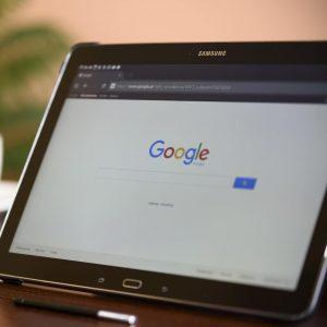 Google Suchmaschine Startseite